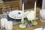 Romantyczna kolacja przy świecach